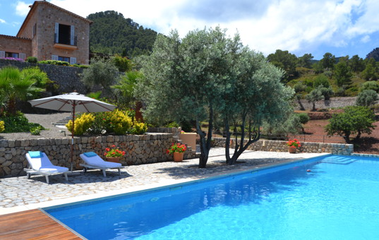 Spanien - BALEARIC ISLANDS - MAJORCA - Banyalbufar - Terra Rotja - Villa with large garden and pool