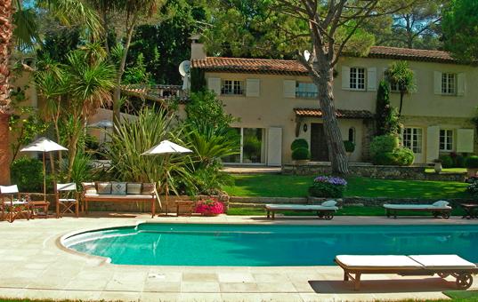 Frankreich - Côte d'Azur  - Mougins - Villa Font de L'Orme -