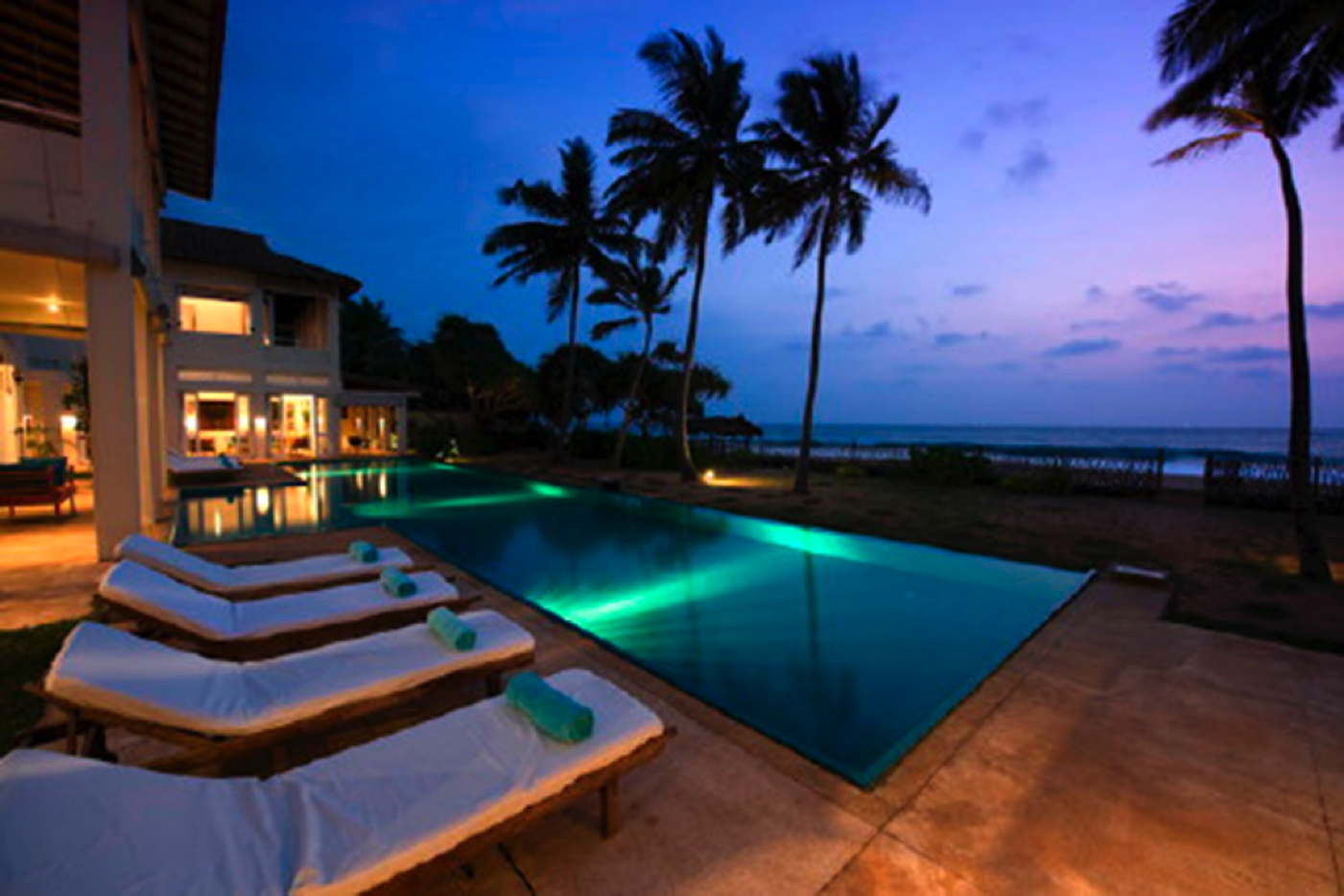 Beach Luxury Rental Villa With Pool Service Included Sri