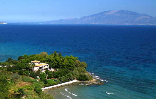 <a href='/holiday-villa/greece.html'>GREECE</a> - <a href='/holiday-villa/greece/ionian-islands.html'>IONIAN ISLANDS</a>  - <a href='/holiday-villa/greece/zakynthos.html'>ZAKYNTHOS</a> - Alikanas - Spiti Calypso - Apartment Phaedra - perfectly beach front location
