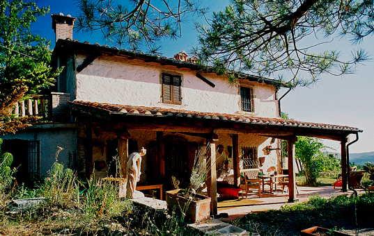 Italien - Toskana  - Selva - Podere Poggio Prataccio - rustikale landhausvilla in der toskana