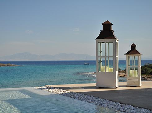 Villa direkt am Meer auf Aegina