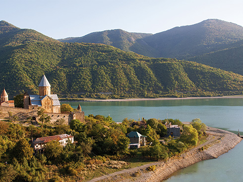 Ananuri-Festung Georgien