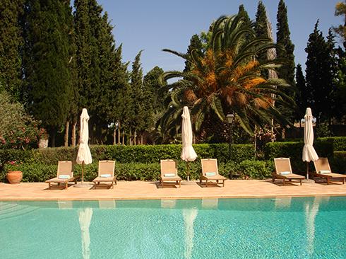Pool auf Chios