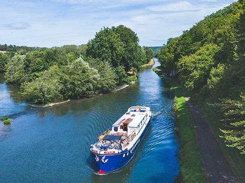 L'art de Vivre cruising in Burgundy