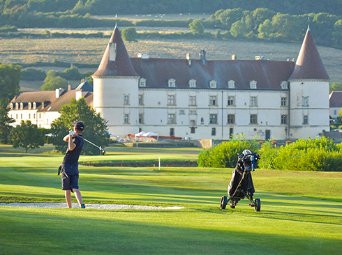 people playing golf in france