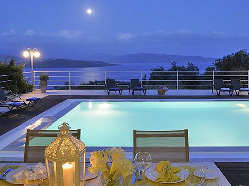 Korfu'da tatil villası