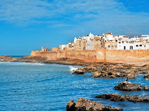 View of the Medina of Essaouira