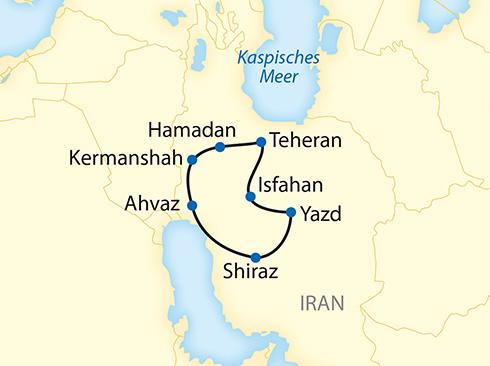 Erlebnisreise Persien