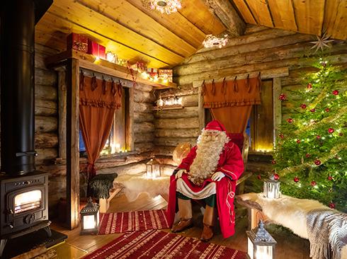 Beim Weihnachtsmann in Lappland