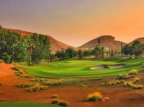 Muscat Golf course Ras Al Hamra