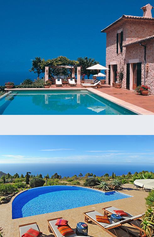 Destinazioni di lusso al mare in Spagna, Isole Canarie e Isole Baleari