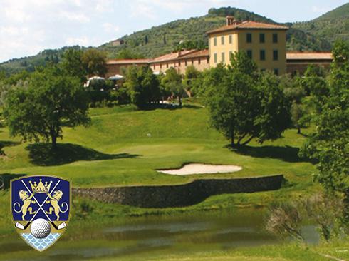 Golfplatz Montecatini Toskana
