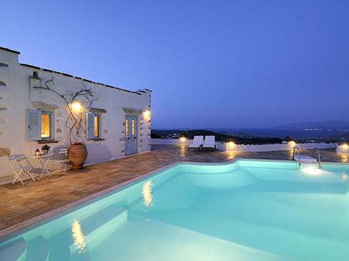 Villa mit Pool auf Paros
