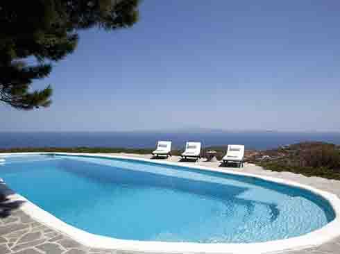 Ferienvilla mit Pool auf Sifnos