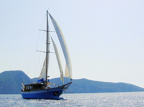 sailing yacht Cyclades