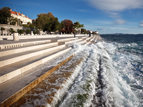 Meeresorgeln in Zadar