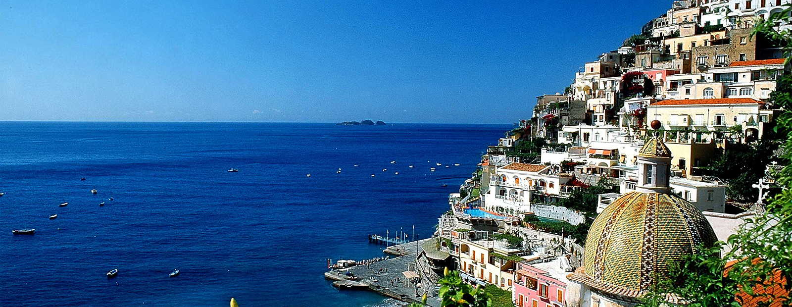 Luxurious holiday homes at the Amalfi Coast