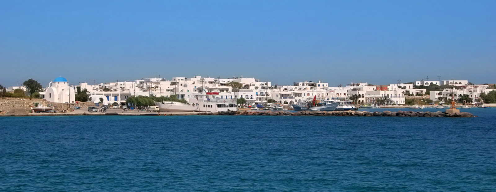 Exclusive holiday villas in Antiparos