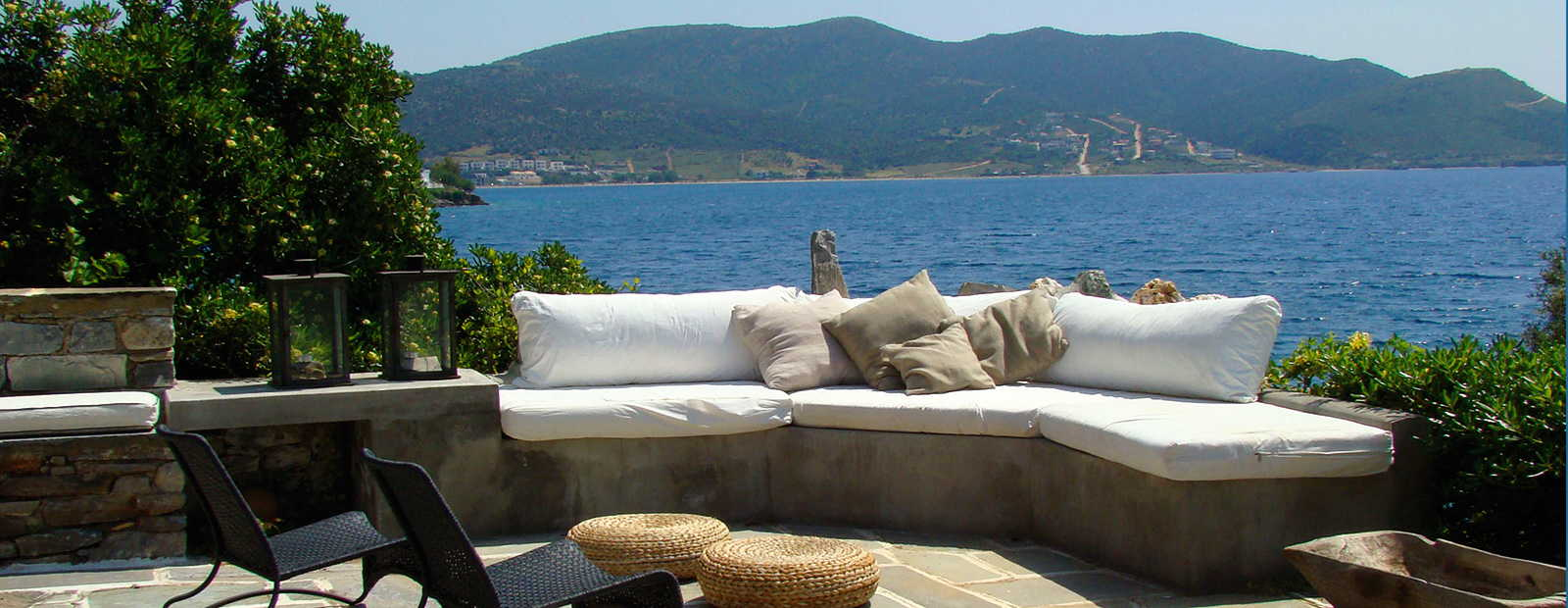 Luxurious holiday homes in Evia