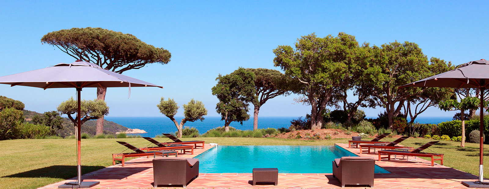 Exclusive holiday villas in France