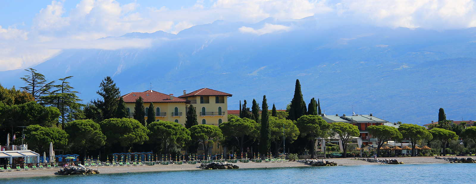 Luxurious holiday homes at Lake Garda
