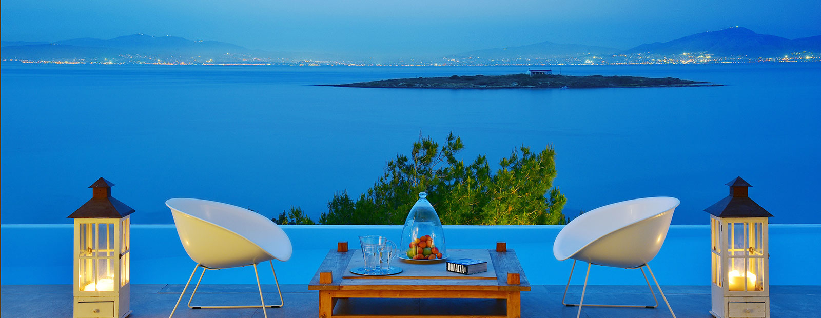 Exclusive holiday homes in Greece