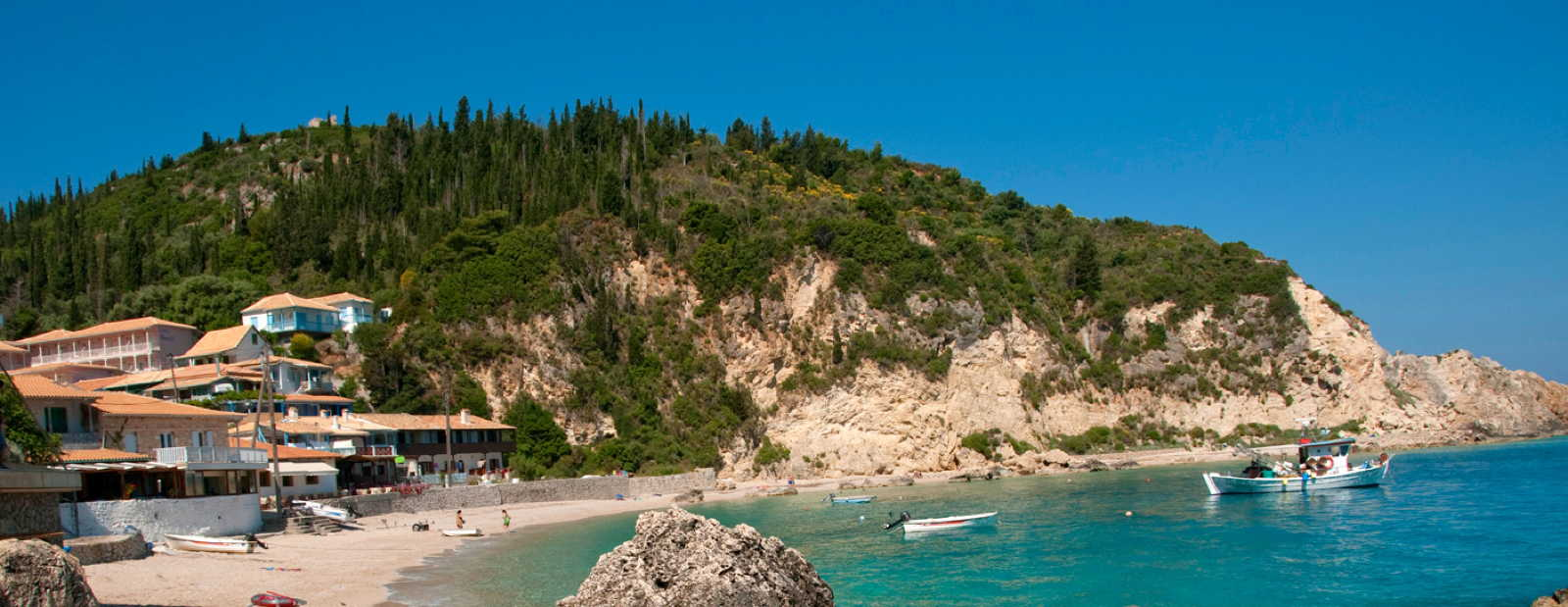 Exclusive holiday homes in the Ionian Islands