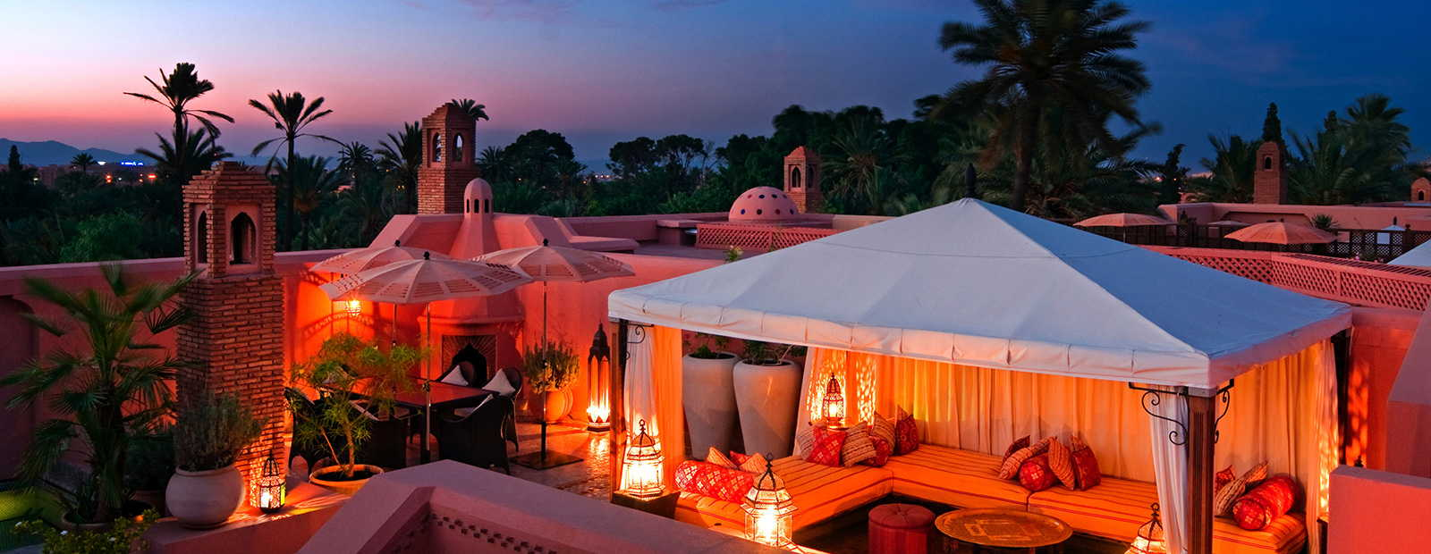 Luxurious hotels in Morocco