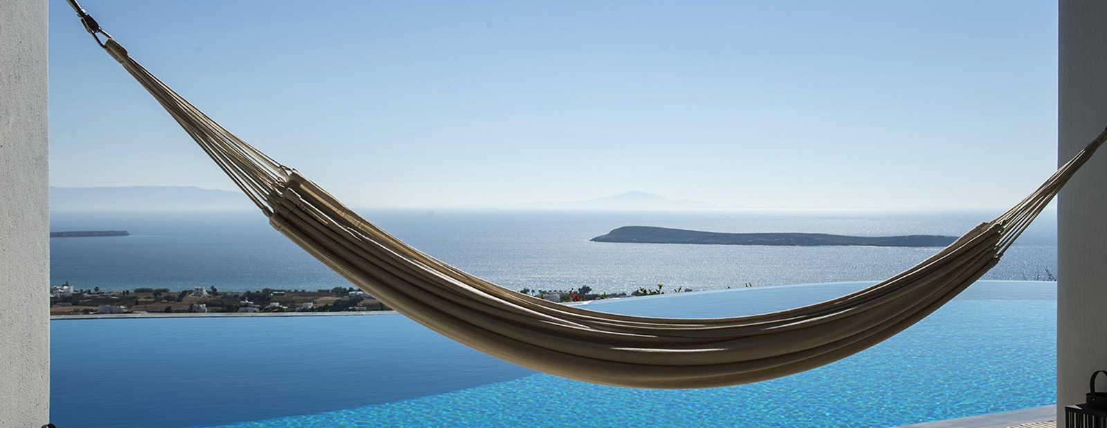 Luxuriöse Ferienvillen auf Paros