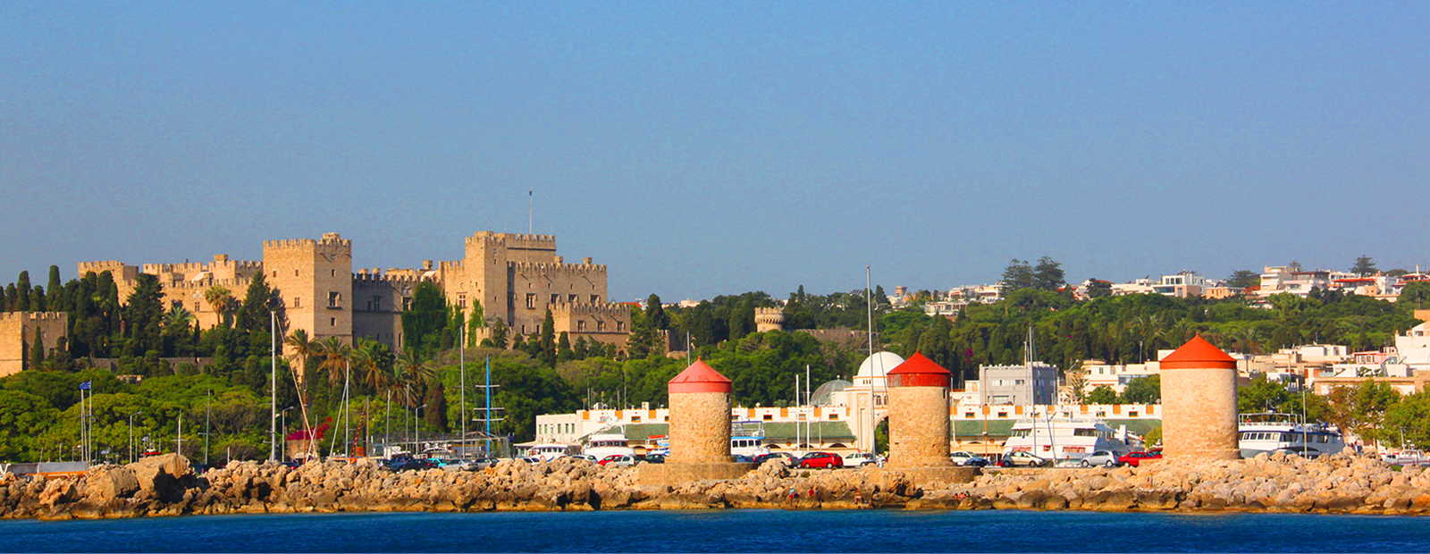Luxurious holiday homes in Rhodes