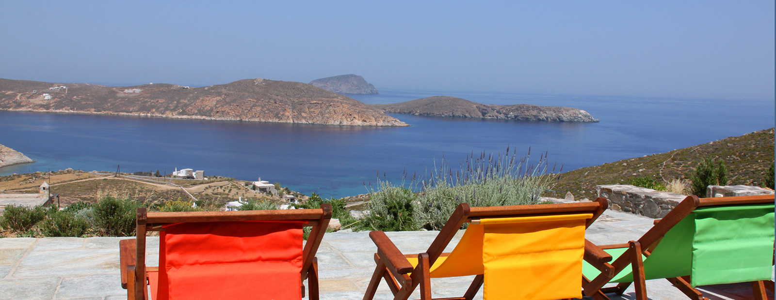 Luxurious holiday homes in Serifos