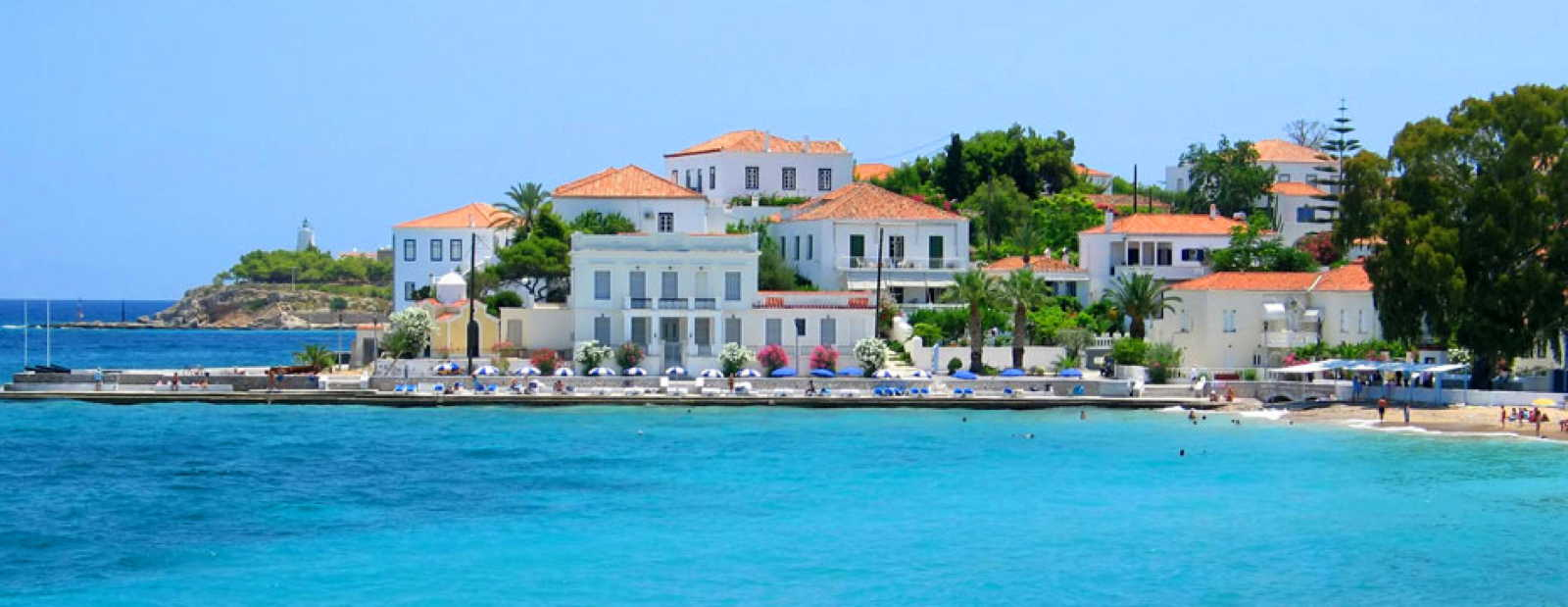 Exclusive holiday homes in Spetses