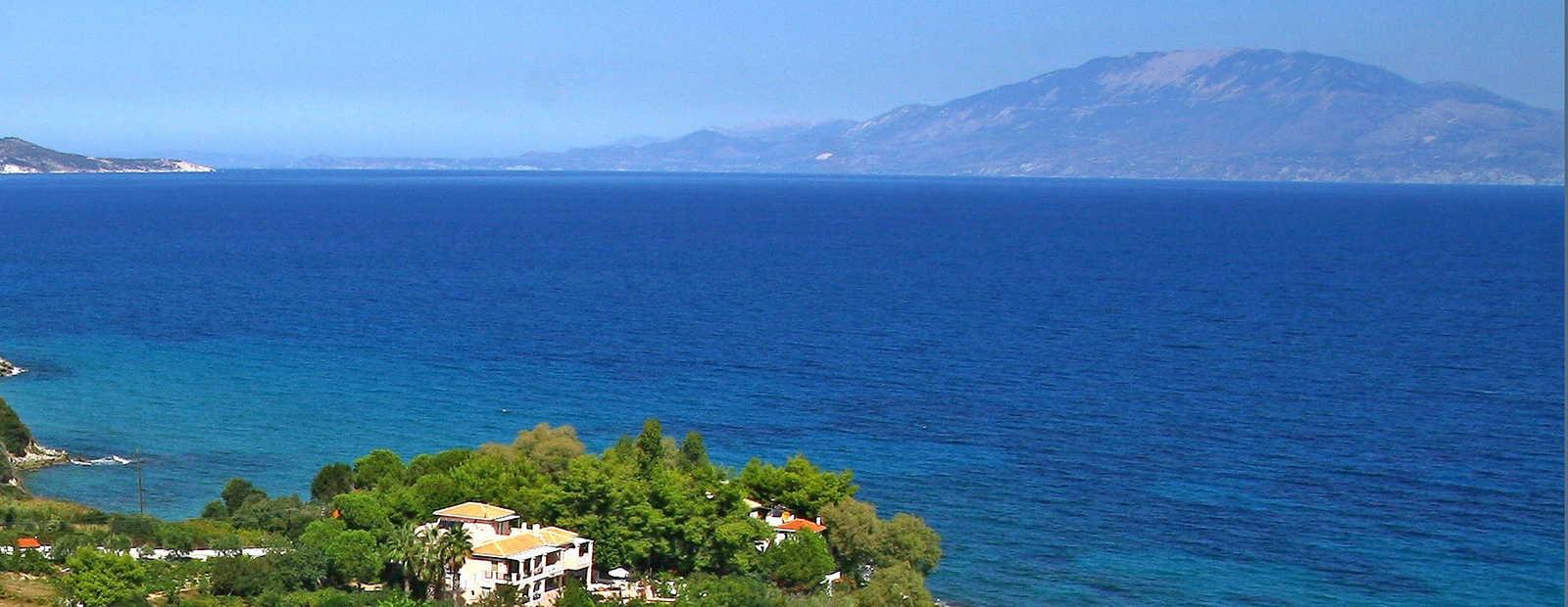 Luxurious holiday homes on Zakynthos island